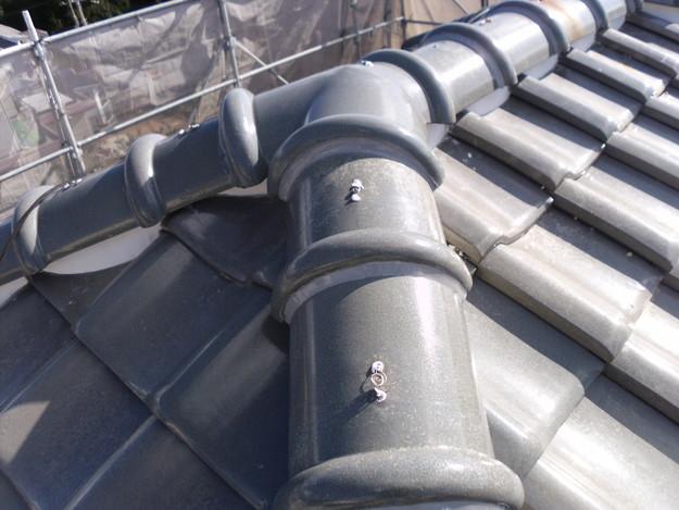 雨漏り対策修理漆喰部ビフォーDSCI0969
