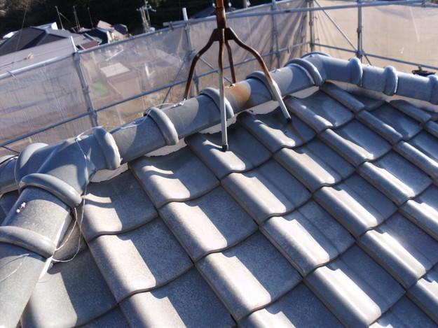 雨漏り対策漆喰修理ビフォーDSCI0849