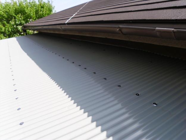 カラーベスト屋根葺き替えリフォーム完了DSCI1379