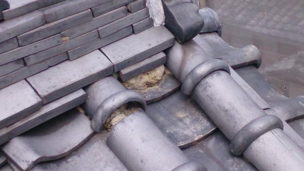 今月の雨漏り点検修理雨漏りの原因箇所DSC_3604