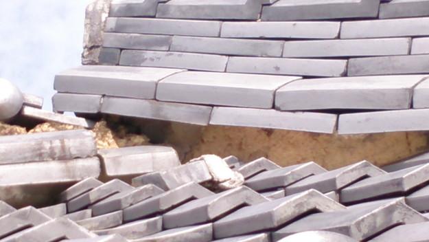 今月の雨漏り点検修理雨漏りの原因箇所DSC_3633