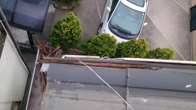 今月の雨漏り点検修理雨漏りの原因箇所DSC_3697