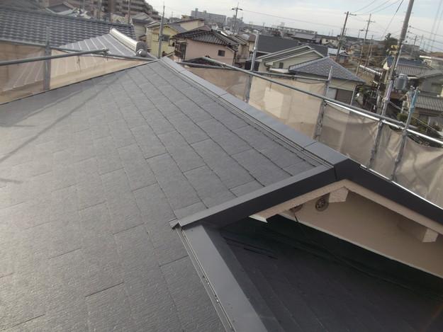和風から洋風の屋根リフォーム葺き替え工事完了DSCF2668