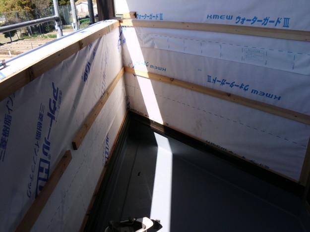 外壁サイディング工事神戸市施工中DSCI1206