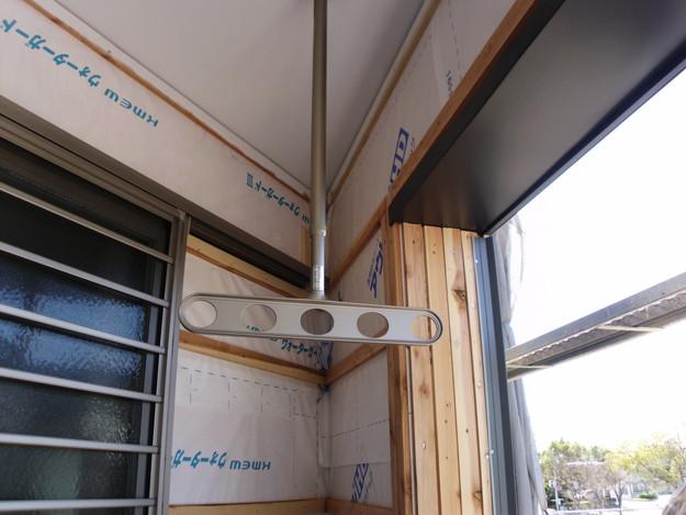 外壁サイディング工事神戸市施工中DSCI1208