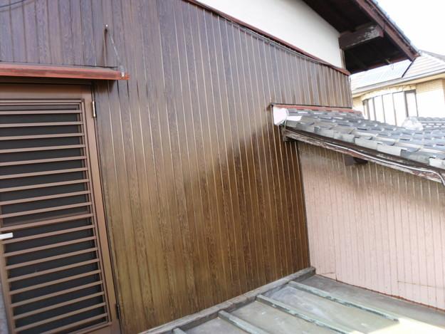 外壁トタンの交換工事完了DSCI1191