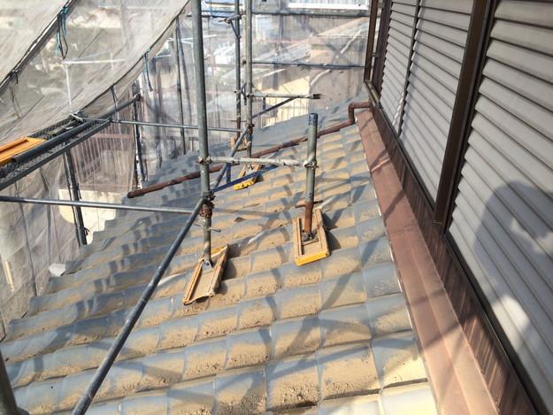 屋根と外壁のリフォームビフォー写真1458906368909