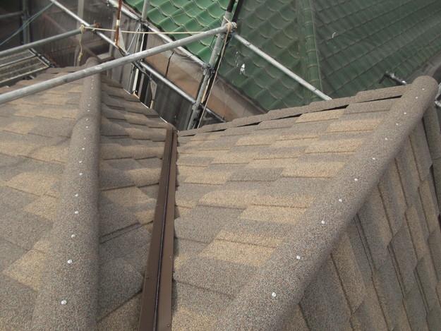 屋根のリフォーム完了写真DSCF2924