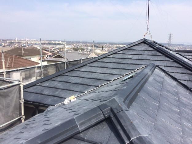 屋根のリフォーム葺き替え工事アフター1459505951236