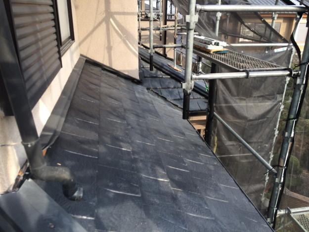 屋根のリフォーム葺き替え工事アフター1459505972450