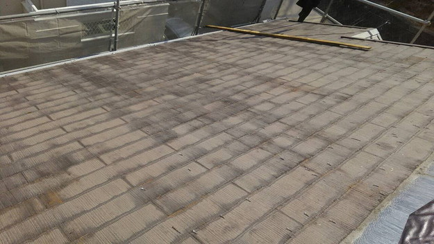 屋根のリフォーム葺き替え工事ビフォー1461820829645