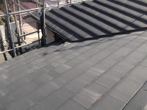 屋根のリフォーム葺き替え工事ビフォーDSCF4163
