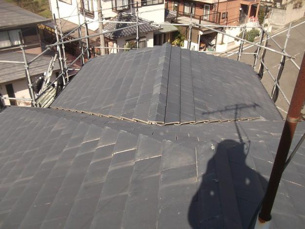 屋根のリフォーム葺き替え工事ビフォーDSCF4167