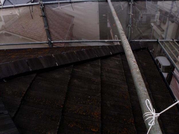 屋根のリフォーム葺き替え工事施工前DSCI1092