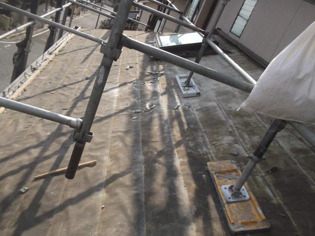 屋根のリフォーム葺き替え工事既存屋根解体DSCF4193