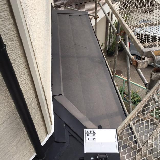 屋根リフォームカバー工法工事神戸1459342802985
