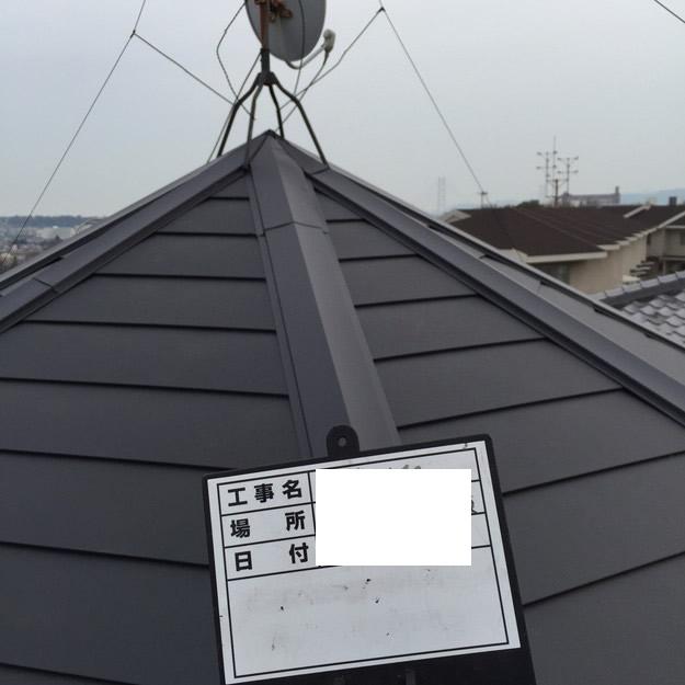 屋根リフォームカバー工法工事神戸1459342810428