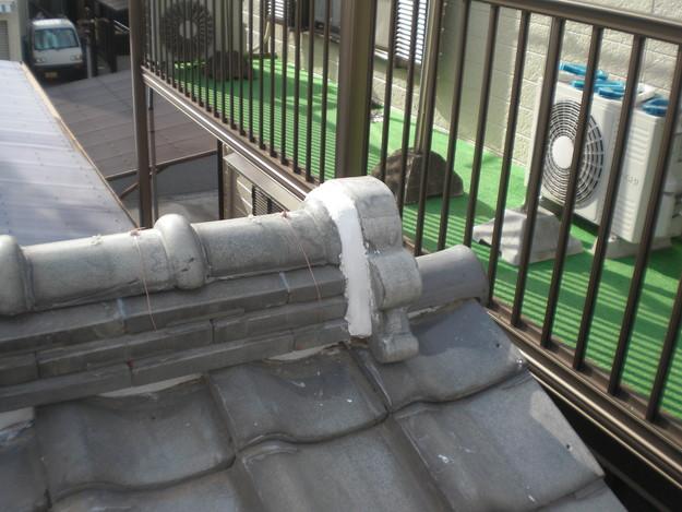 屋根修理棟瓦積替工事完了CIMG2313