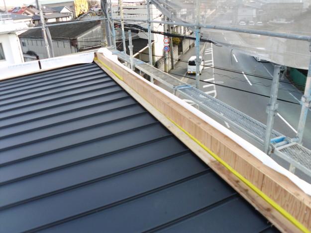 屋根工事神戸市施工の様子DSCI1033
