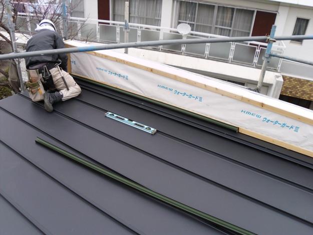 屋根工事神戸市施工の様子DSCI1204