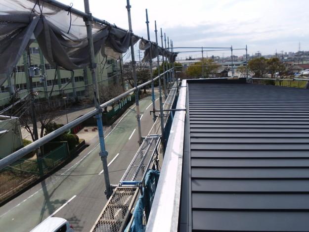 屋根工事神戸市施工の様子DSCI1216