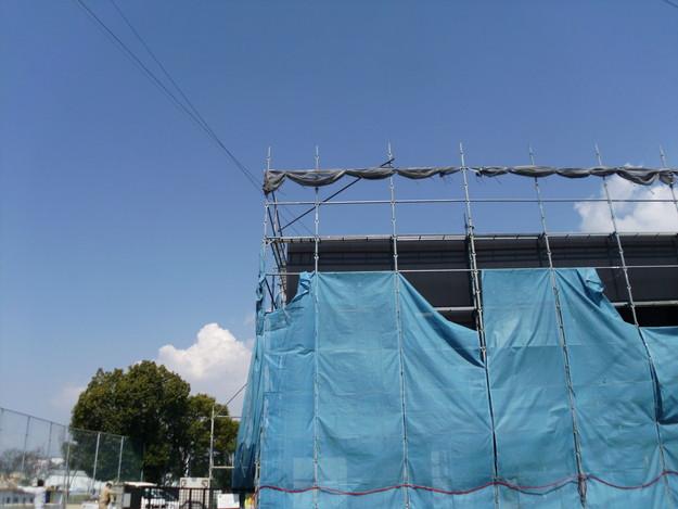 屋根工事神戸市施工の様子DSCI1273