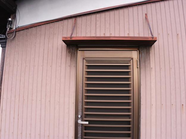 屋根板金と外壁トタンの交換工事施工前DSCI1174