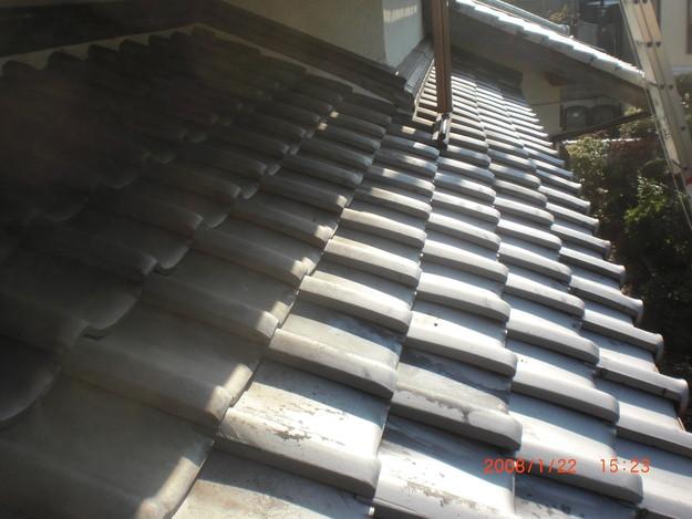 瓦のずれ・めくれ対策ラバーロック工事神戸市施工前CIMG2470