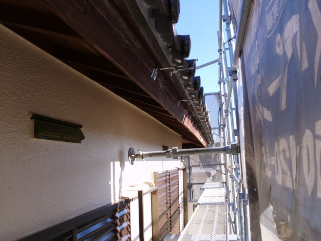 神戸市雨樋工事施工中DSCI1043