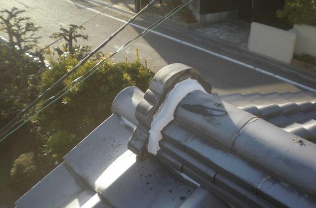 雨漏り・台風対策屋根メンテナンス工事中CIMG2454