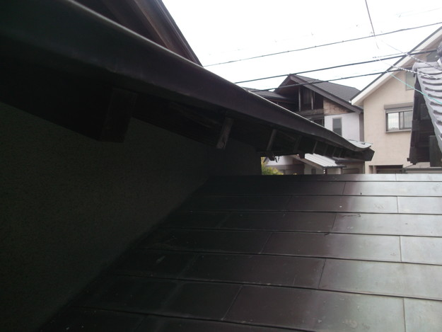 雨漏り・台風対策屋根メンテナンス工事中DSCF4214