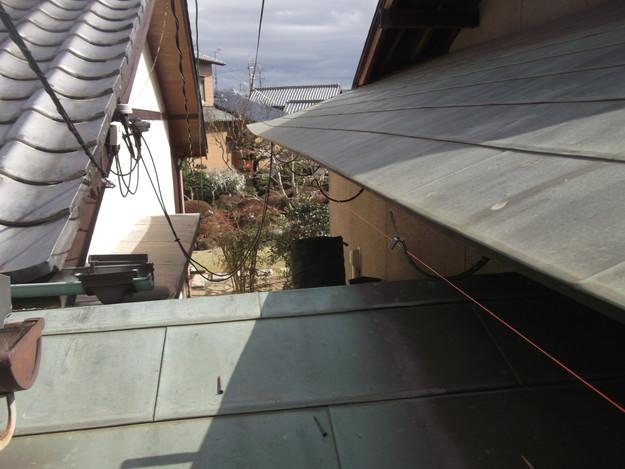雨漏り・台風対策屋根メンテナンス工事中DSCF4216