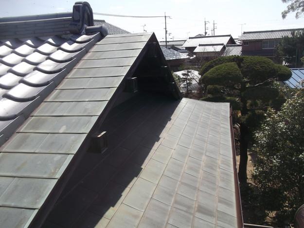 雨漏り・台風対策屋根メンテナンス工事中DSCF4234