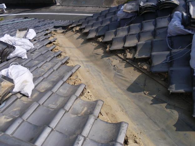 雨漏り・台風対策屋根メンテナンス工事中DSCI1288