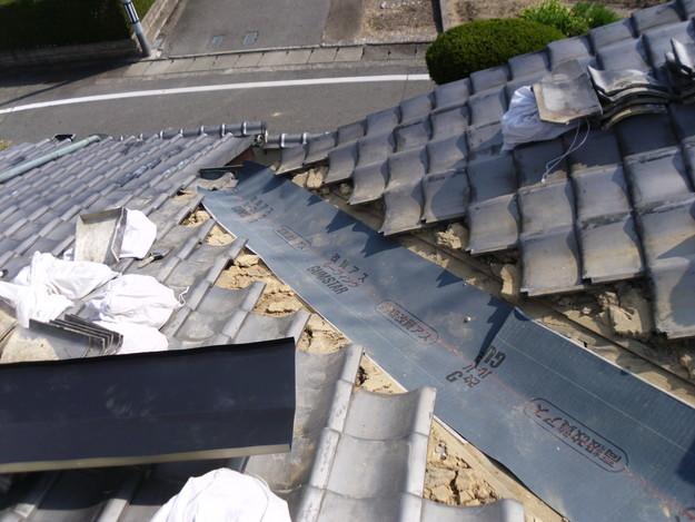 雨漏り・台風対策屋根メンテナンス工事中DSCI1289