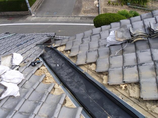 雨漏り・台風対策屋根メンテナンス工事中DSCI1291