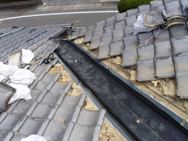 雨漏り・台風対策屋根メンテナンス工事中DSCI1293