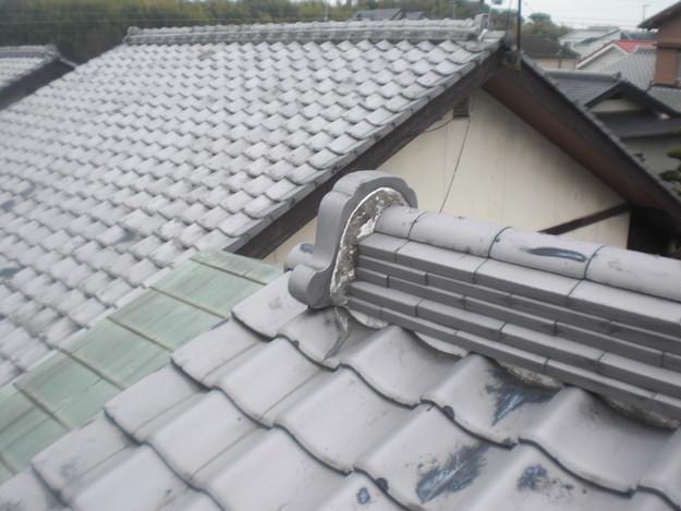 雨漏り・台風対策屋根メンテナンス工事施工前CIMG2415