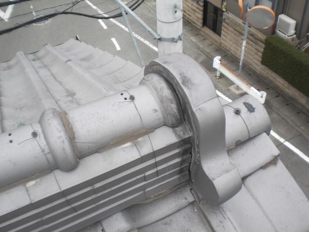 雨漏り・台風対策屋根メンテナンス工事施工前CIMG2434