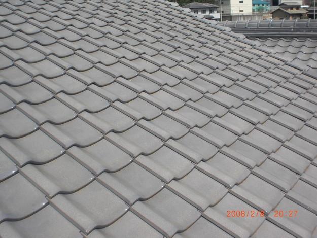 雨漏り・台風対策屋根修理ビフォーCIMG2577