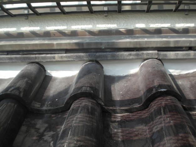 雨漏り・瓦ずれ対策漆喰工事完了写真CIMG2393