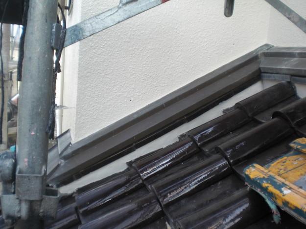 雨漏り・瓦ずれ対策漆喰工事完了写真CIMG2396