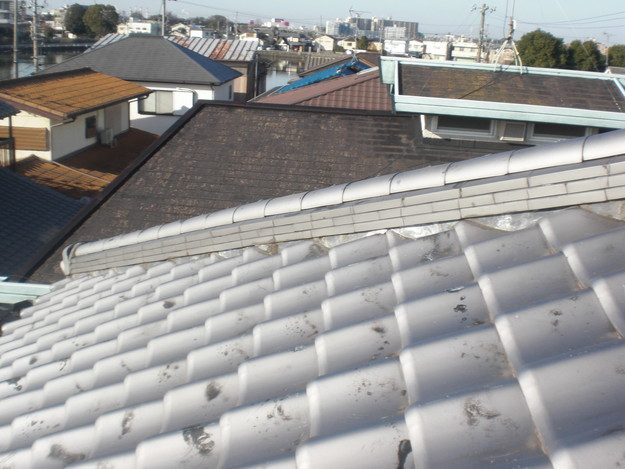 雨漏り対策修理施工前CIMG2319