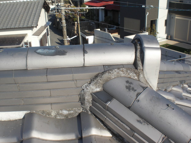 雨漏り対策修理施工前CIMG2326