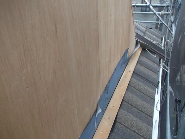 高級高性能洋風金属瓦によるカバー工法屋根リフォーム工事DSCF2797