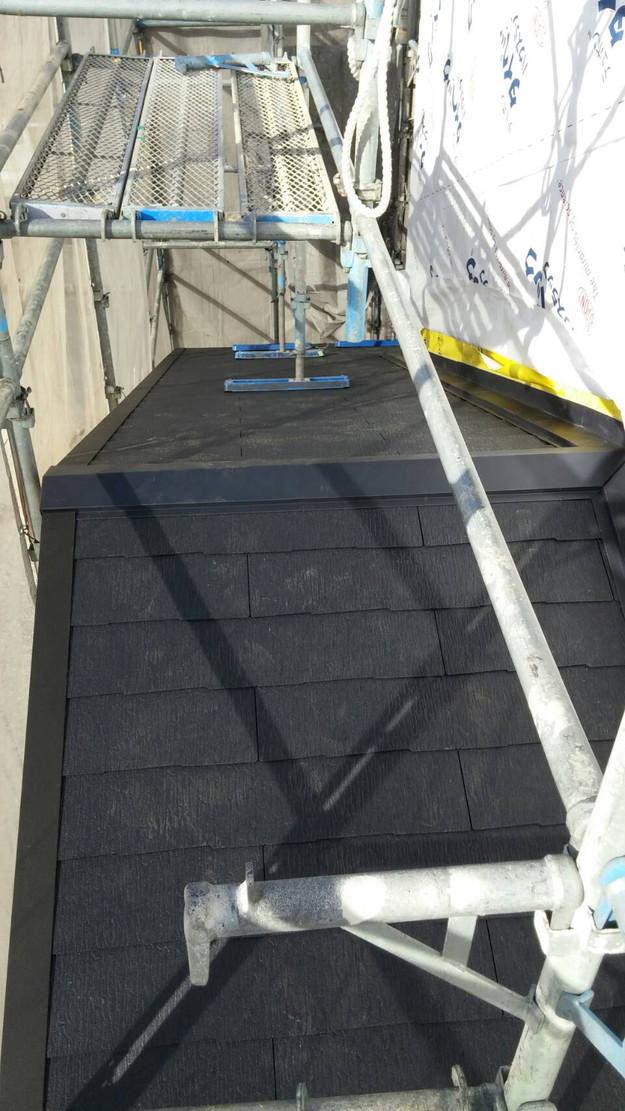 カラーベスト屋根のリフォーム工事1460900632178