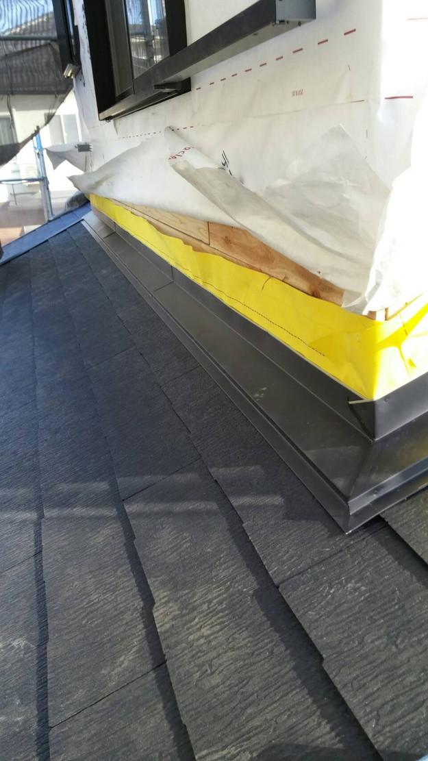 カラーベスト屋根のリフォーム工事1460900638108