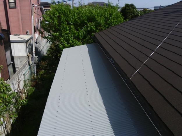 カラーベスト屋根葺き替えリフォーム完了DSCI1381