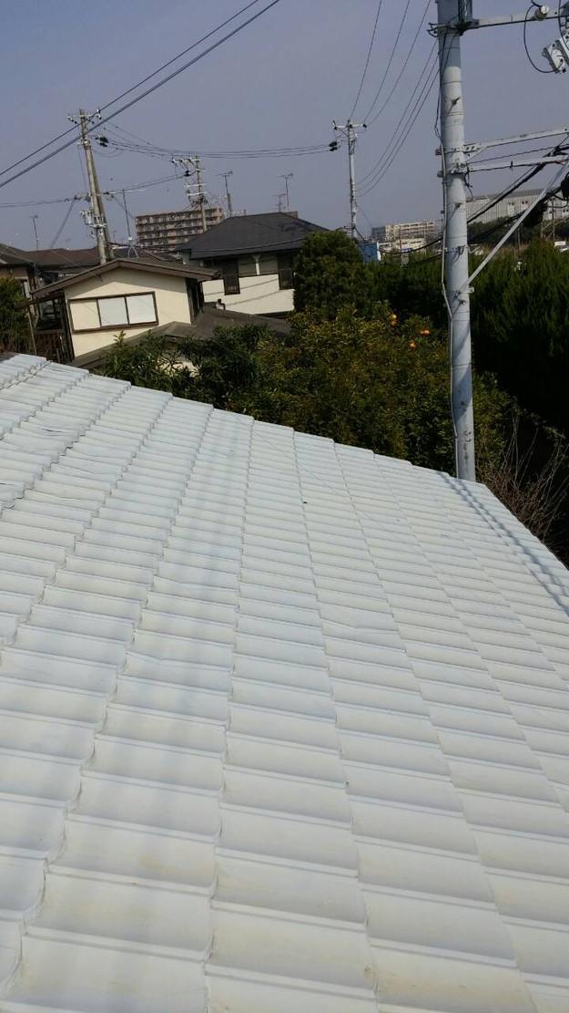 カラーベスト屋根葺き替え施工前1459670884664