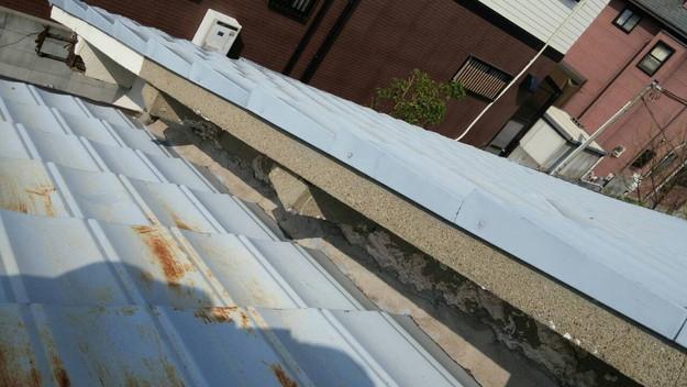 カラーベスト屋根葺き替え施工前1459670898711